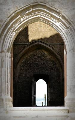 Photograph - Arches And Entries - Rock Of Cashel by Nadalyn Larsen