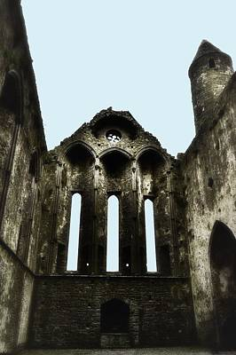 Photograph - The Chapel - Rock Of Cashel by Nadalyn Larsen