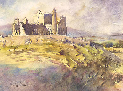 Rock Of Cashel Painting - Rock Of Cashel County Tipperary by Keith Thompson