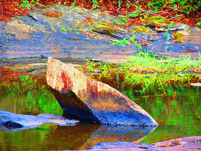 Photograph - Rock Of Color				 by Aaron Martens