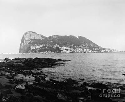 Photograph - Rock Of Gibraltar by Granger