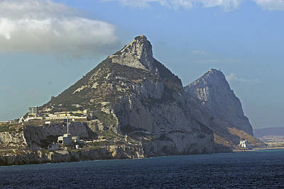 Photograph - Rock Of Gibraltar by Tony Murtagh