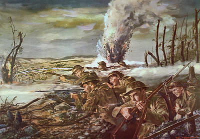 U.s Army Painting - Rock Of The Marne by Granger