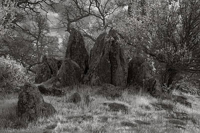 Photograph - Rock Outcrop by Gary Rose