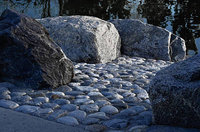 Stone Pathway Photograph - Rock Path by Camille Lopez