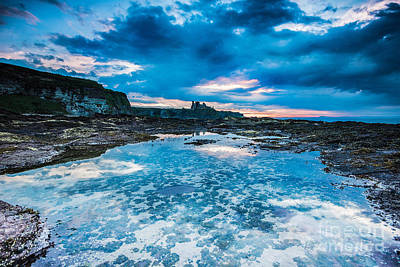 Fantasy Royalty-Free and Rights-Managed Images - Rock Pool at Tantallon Castle. by Keith Thorburn LRPS EFIAP CPAGB