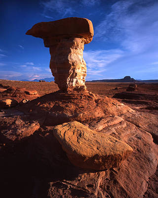 Photograph - Rock Sculpture by Ray Mathis