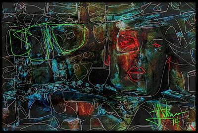 Digital Art - Rock Star by Jim Vance