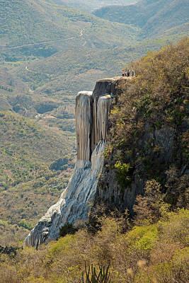 Human Landscape Photograph - Rock Terrace by Jim West