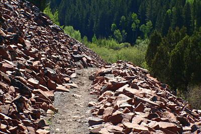 Photograph - Rock Trail by Jon Emery