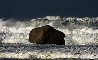 Photograph - Rock V Wave I by Tony Reddington