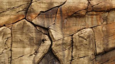 Photograph - Rock Wall by Harold Rau
