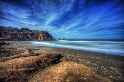 Pacifica Photograph - Rockaway Beach Pacifica California 1  by Jennifer Rondinelli Reilly - Fine Art Photography