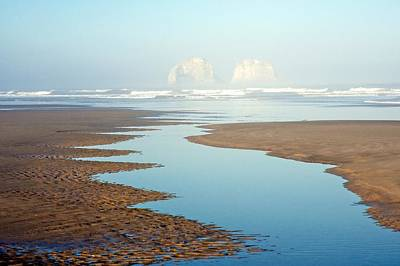 Photograph - Foggy Rockaway Beach - Oregon by Spencer McDonald