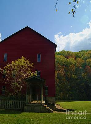 Art Print featuring the photograph Rockbridge Mill by Julie Clements