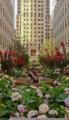 Photograph - Rockefeller Center by Ann Murphy