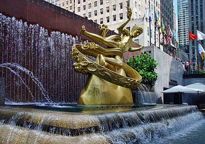 Photograph - Rockefeller Center by New York