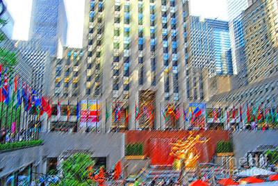 Photograph - Rockefeller Center by Art Mantia