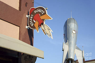 Photograph - Rocket Donuts Horizontal Bellingham  by John  Mitchell