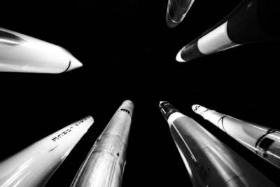 Photograph - Rocket Launch by Dan Sproul