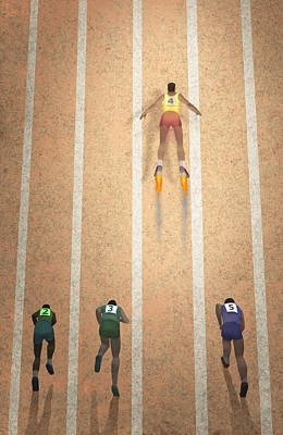 Differences Digital Art - Rocket Man by Steve Dininno