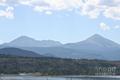Photograph - Rockies by Susan Herber