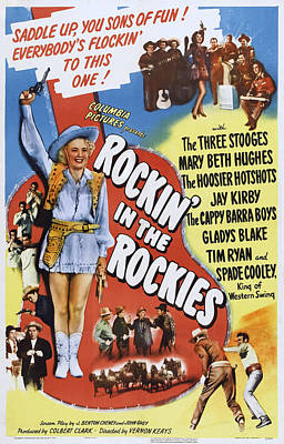 Rockin In The Rockies, Us Poster, Mary Art Print by Everett