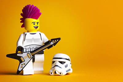 Lego Photograph - Rockin' Out by Samuel Whitton