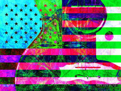 Rockin Usa 20140716 P128 Art Print by Wingsdomain Art and Photography