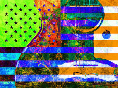 Rockin Usa 20140716 P36 Art Print by Wingsdomain Art and Photography