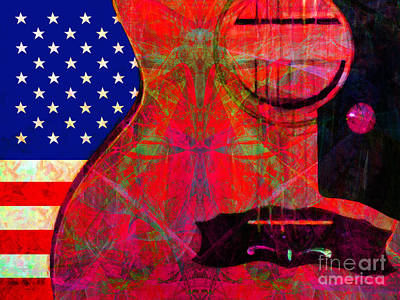 Rockin Usa 20140716 V2 M28 Art Print by Wingsdomain Art and Photography
