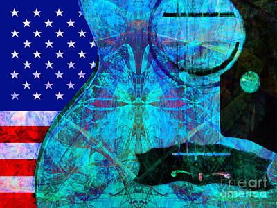 Rockin Usa 20140716 V2 P168 Art Print by Wingsdomain Art and Photography
