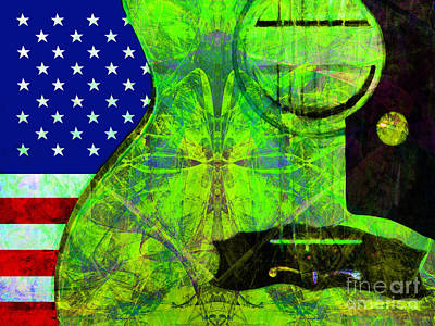 Rockin Usa 20140716 V2 P68 Art Print by Wingsdomain Art and Photography