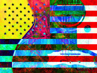 Photograph - Rockin Usa 20140716 by Wingsdomain Art and Photography