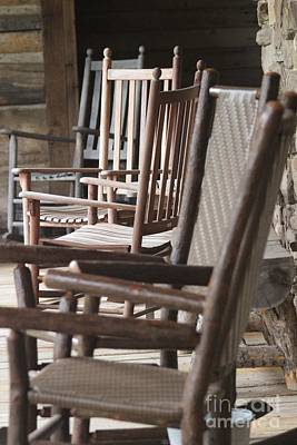 Rocking Chair Blues Original by Laura Paine
