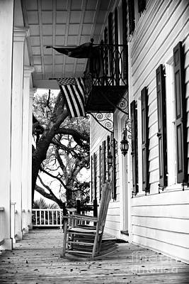 Photograph - Rocking Chair On The Porch by John Rizzuto