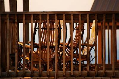 Photograph - Rocking Chairs by Sharon Popek