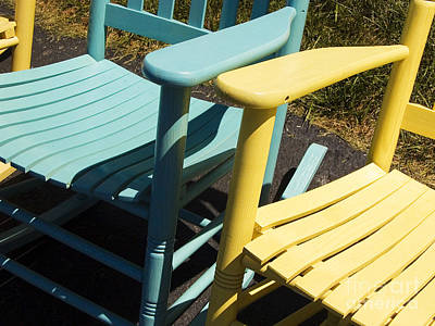 Photograph - Rocking Chairs by Tom Brickhouse