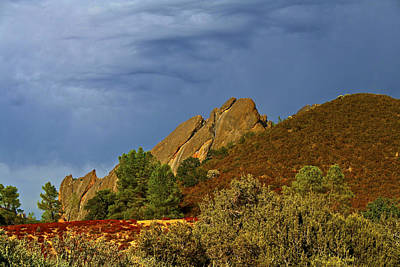 Photograph - rocking colors at the Pinnacles National Monument by SC Heffner