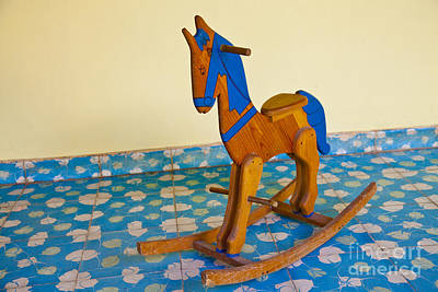 Photograph - Rocking Horse by Ellen Thane