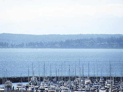 Photograph - Rocking In The Puget Sound by Laura Watts