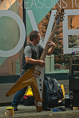 Photograph - Rocking Times Square by Paul Mangold