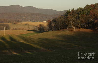 Bucolic Scenes Photograph - Rockingham County Virginia Meadow by Anna Lisa Yoder
