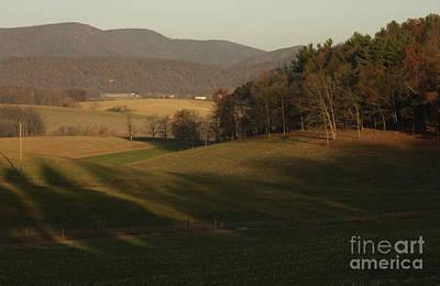 Rockingham County Virginia Meadow Art Print