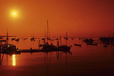 Photograph - Rockland Harbor by Stephen Szurlej