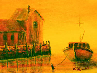 New Years - Rockport 2 by Wayne Enslow