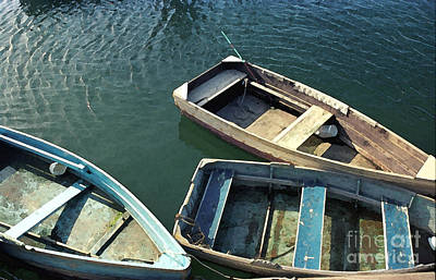 Photograph - Rockport Dinghies by Michelle Constantine