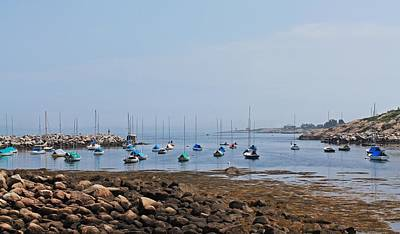 Photograph - Rockport Harbor 2 by Michael Saunders