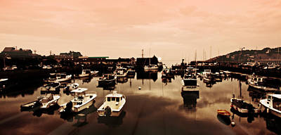 Motif Number 1 Photograph - Rockport Harbor And Motif Number 1 by Stephen Stookey