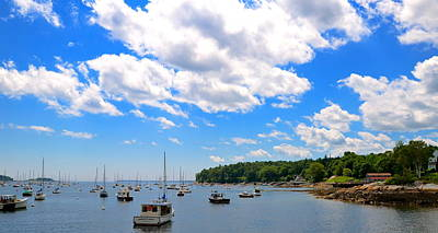 Photograph - Rockport Harbor by Corinne Rhode